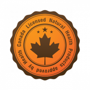 Real Promise Certification Logo Licensed Natural Health Products approved by Health Canada